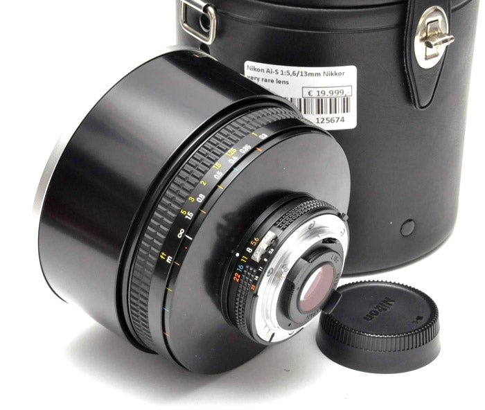 Nikon 13mm f/5.6 Lens: Buy It Now for $29,999.00