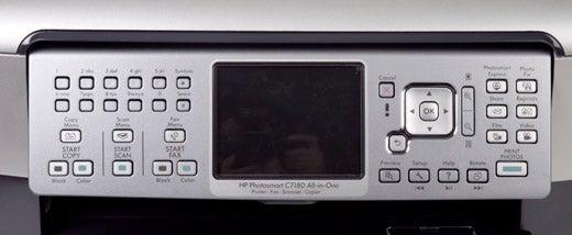 """HP-Photosmart-C7180-control-panel"""