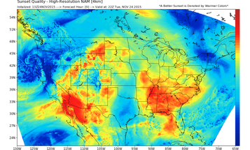 HallettWx.com Tries to Predict When The Sunsets Will Be Good For Photography
