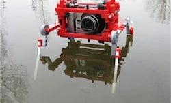 The Lego Quadpod Turns a Compact Camera Into a Spy Robot