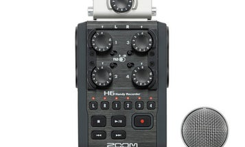 Zoom H6 Audio Recorder Has Swappable Microphones, Mounts to DSLRs