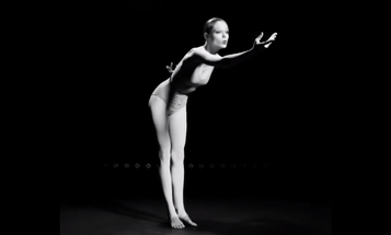 Model Coco Rocha Strikes 1,000 Poses for Study of Pose Book
