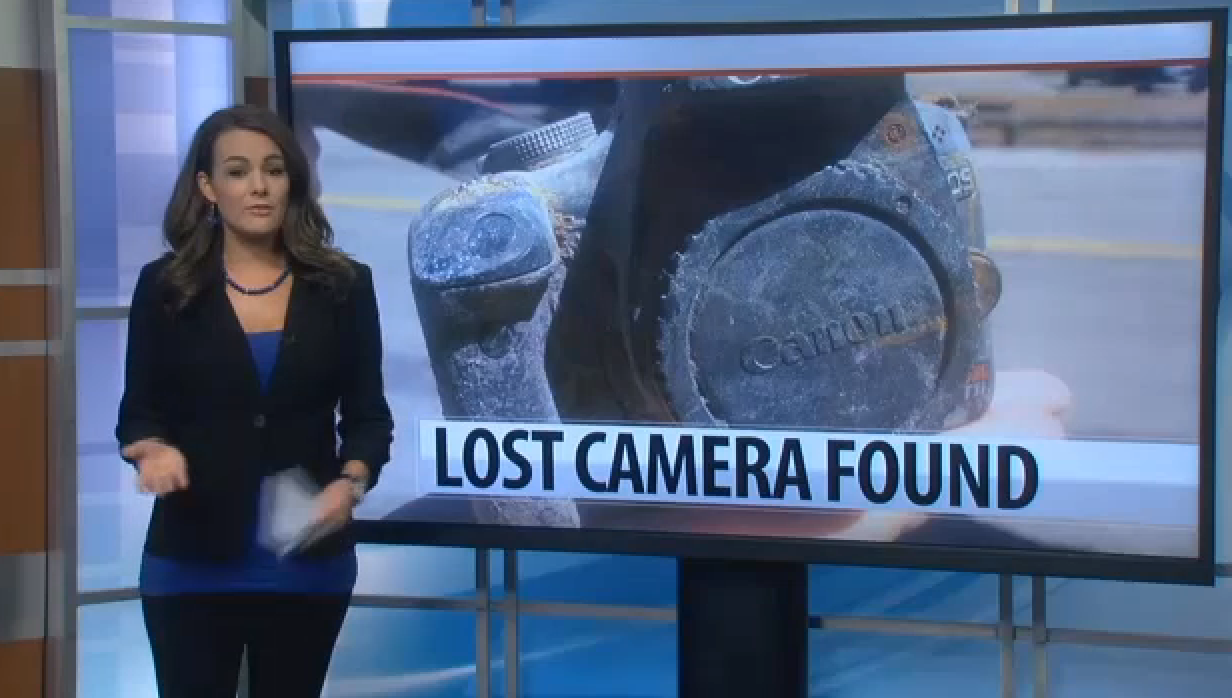 Lost Camera Found in a Dried Up Lake Still Holds Photos After Two Years