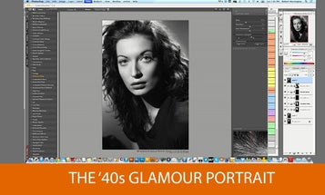 90 Minute Tutorial Shows You How To Make 40s Style Glamor Portraits