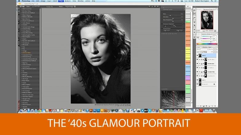 40s glamor