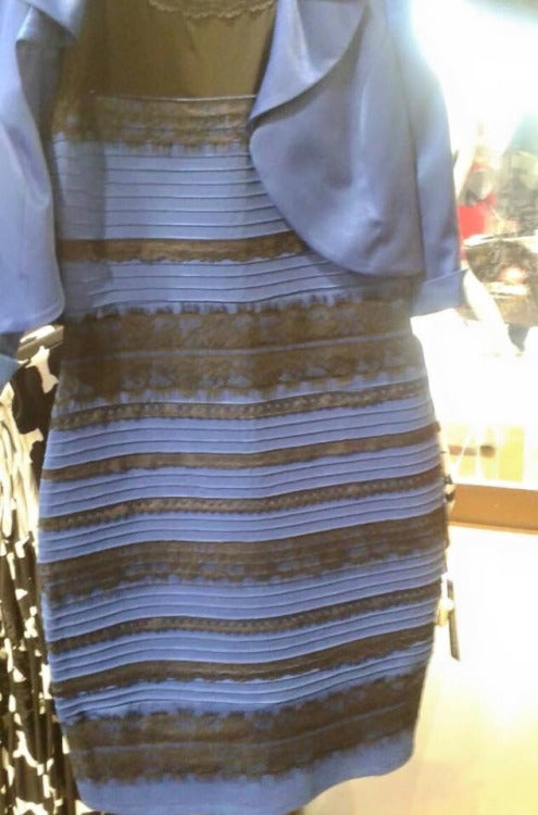 What color is this stupid dress?