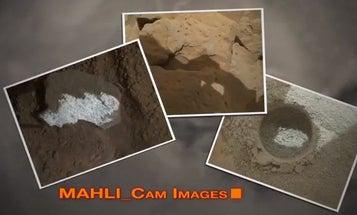 NASA Video Shows Off Curiosity's Cameras