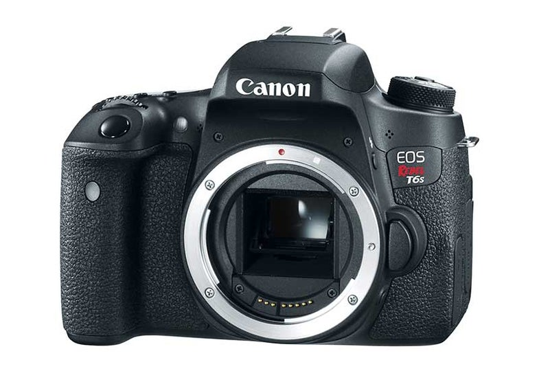 Canon T6s and T6i DSLR Cameras