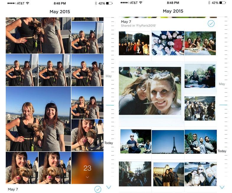 carousel app screenshots