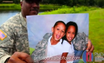 """""""Portraits of Love"""" Wants Your Help Getting Family Photos To Deployed Troops"""
