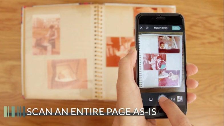 Photomyne iPhone App