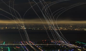 How To Turn Airplane Traffic Into Fine Art Photography