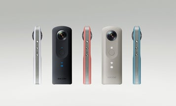 Ricoh Theta SC Is A Mid-Range 360-Degree Panoramic Camera With An Emphasis On Style