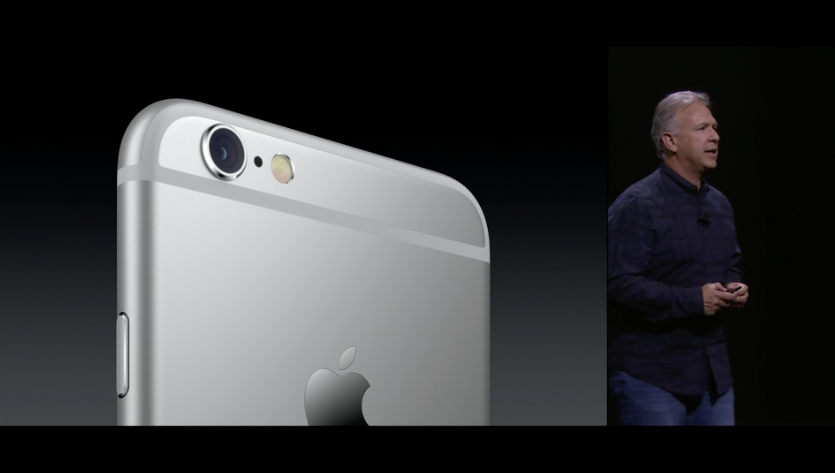 The iPhone 6S Ups Bumps the iSight Camera Up to 12 Megapixels, Adds 4K Video