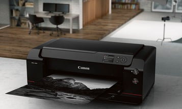Canon's New Photo Printer: 17-Inch imagePROGRAF PRO-1000