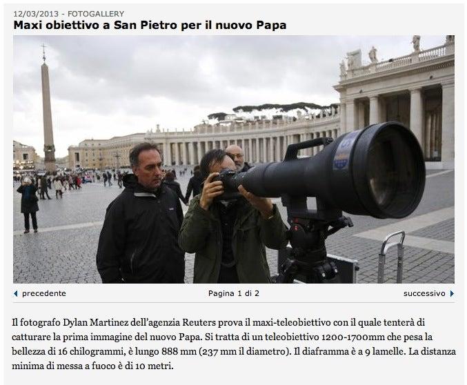pope 1200mm