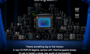 Olympus Teases a New Flagship Camera With Interchangeable Lenses