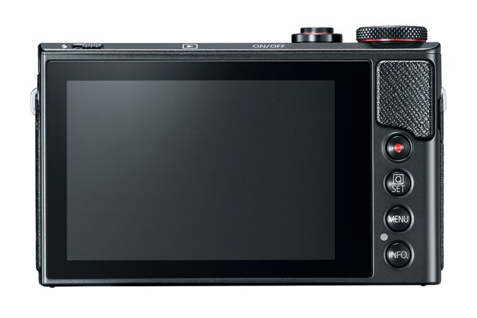 Canon G9 X Mark II Back