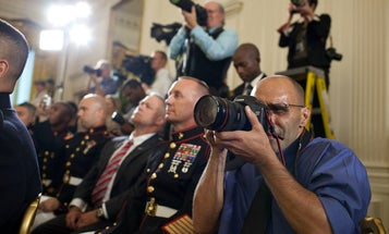 Joao Silva Returns To Work To Photograph Medal Of Honor Recipient