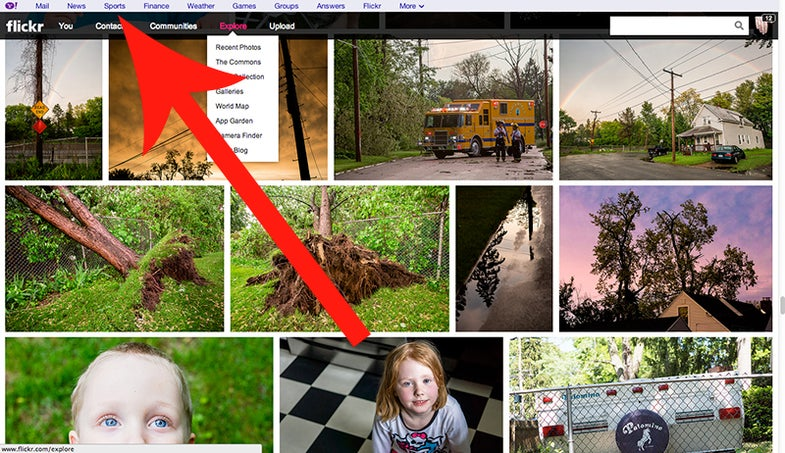 Flickr Tool Bar