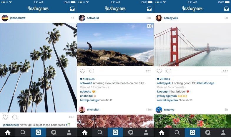 Instagram No Longer Requires Square Photos, Allows Portrait and Landscape Orientation