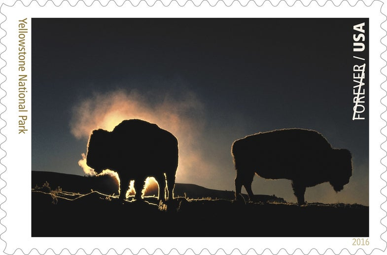 National Parks Stamp Collection Photographs