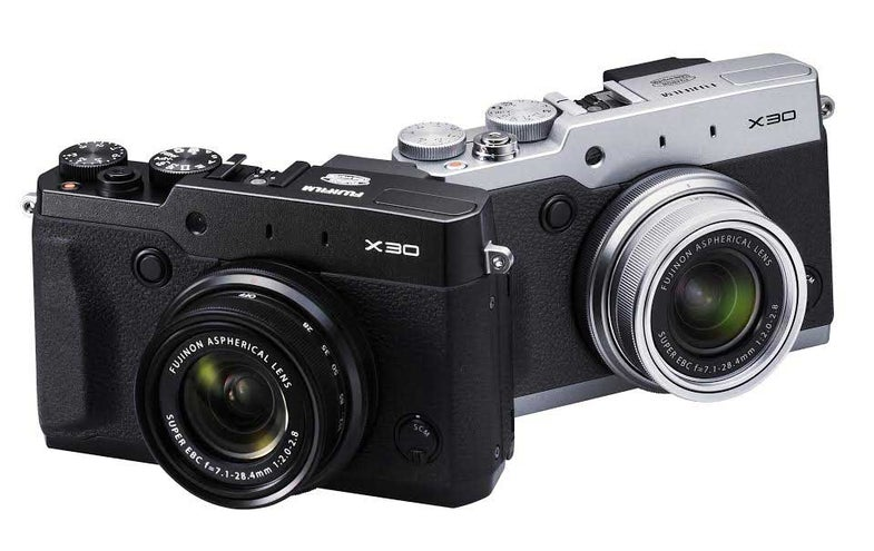 Fujifilm X30 Advanced Compact Camera With Electronic Viewfinder