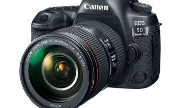 Canon EOS 5D Mark IV DSLR: 30.4-Megapixels, 4K Video, And Wireless Connectivity