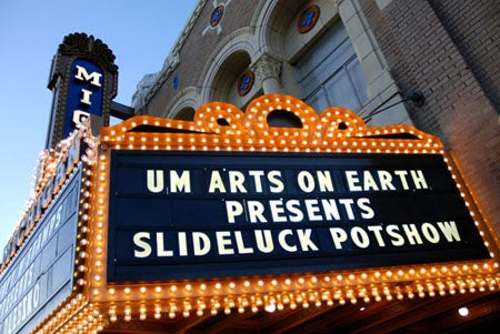 """""""Slideluck-Potshow-The-Marquee-outside-of-the-Mich"""""""