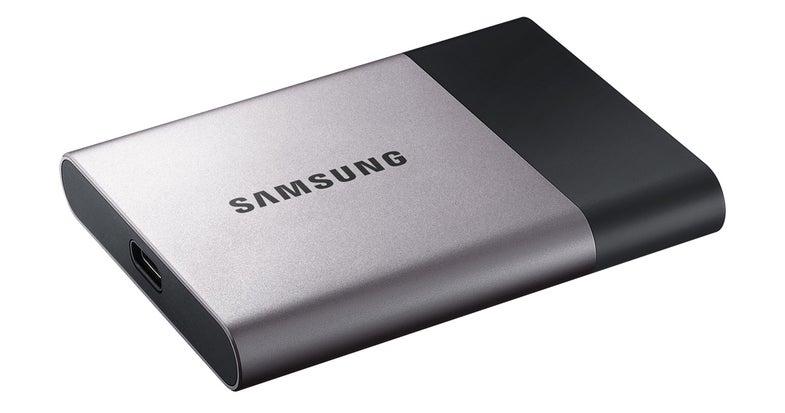 Samsung T3 SSD Storage Device