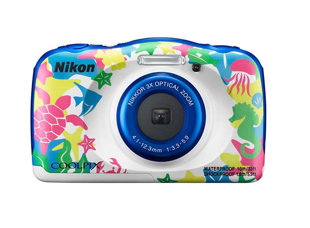 Nikon W100 waterproof compact camera