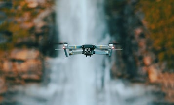 Don't try to fly your drone in areas affected by natural disasters