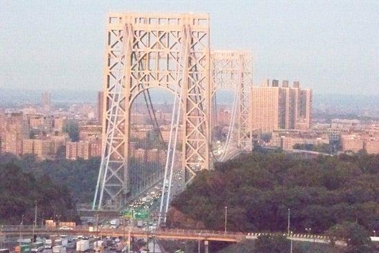 """""""Kodak-Easyshare-Z885-George-Washington-Bridge-in"""""""
