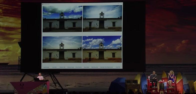 Adobe Sky Replace