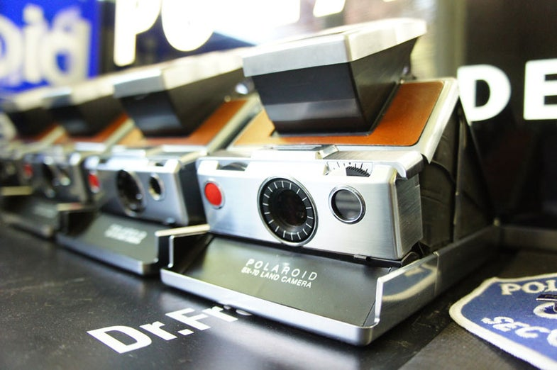 SX-70 factory lab camera