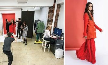 Anatomy of a Studio Fashion Shoot