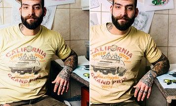 Pick the Keeper Photo: The Five Minute Tattooist Portrait