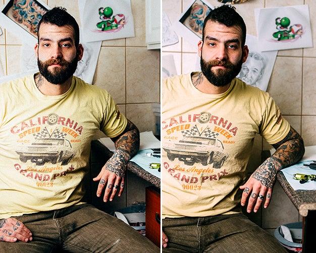 Pick the Keeper: Tattooist Portrait