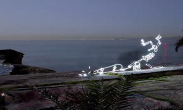 Insanely Patient Photographer Makes a Light-Painted, Stop Motion Video of a Skateboarding Skeleton
