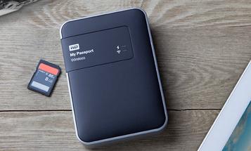 New Gear: Western Digital My Passport Wireless Hard Drive With Built-In SD Card Slot