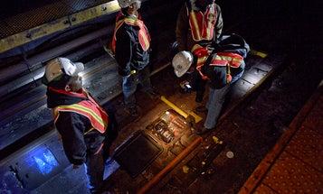 MTA Staff Photographer, Patrick Cashin, On Documenting New York's Recovery From Hurricane Sandy