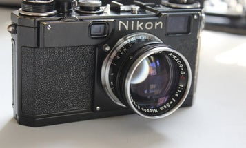eBay Watch: All-Black 1950s Nikon S2 Camera Was For Pro Photographers Only