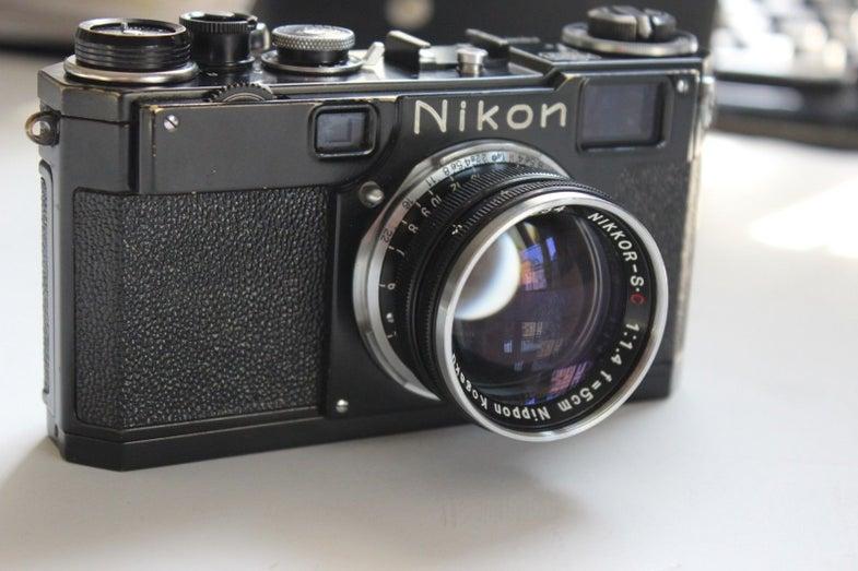 Nikon S2 Camera Auction