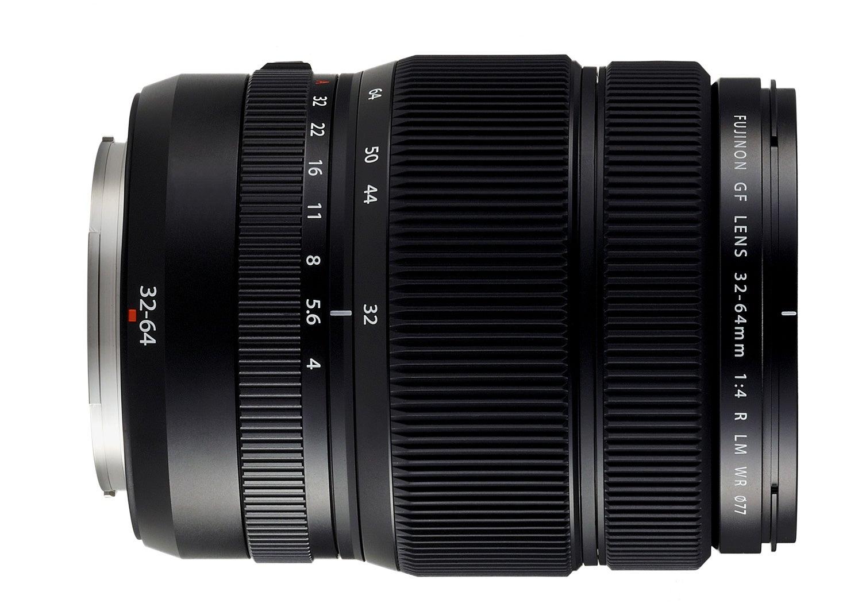 Fujifilm GFX 50S Medium Format Digital Camera Zoom Lens