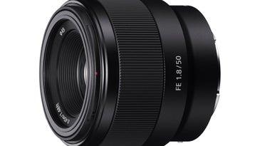 Sony 50mm f/1.8 full-frame prime lens