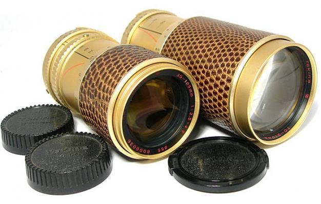 crocodile skin lenses
