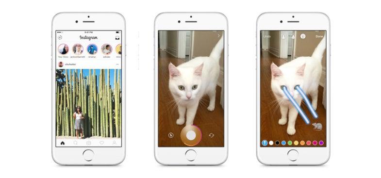 Instagram Stories Features