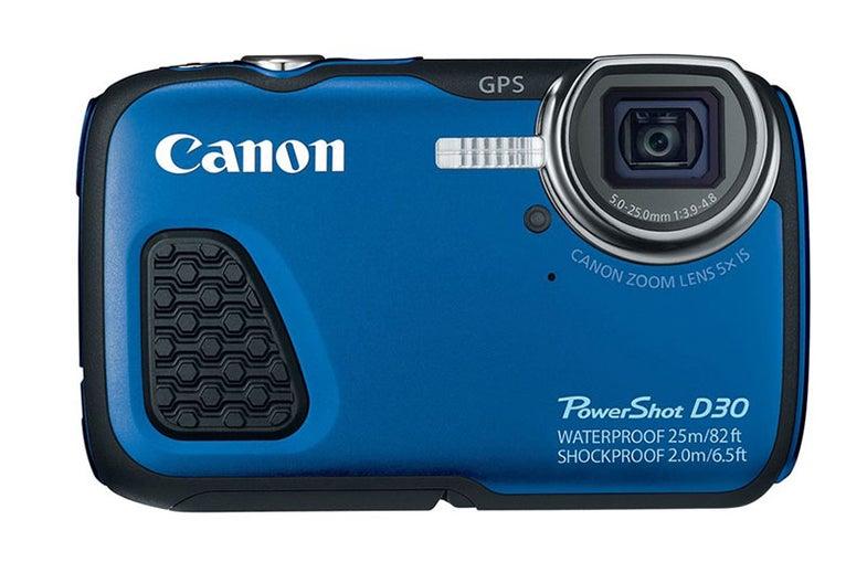 Canon D30 Rugged Waterproof Camera