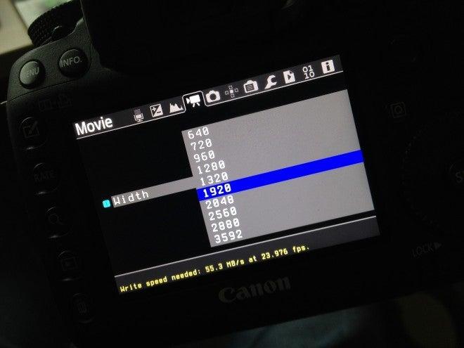 Canon 5D Mark III Magic Lantern Hack