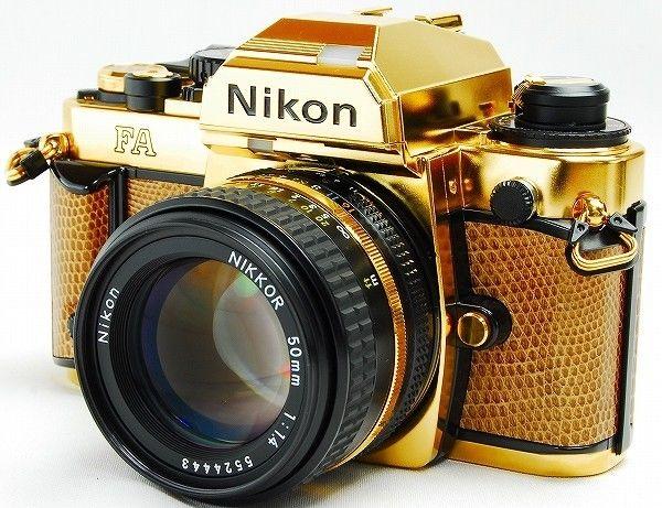 Nikon FA SLR Gold